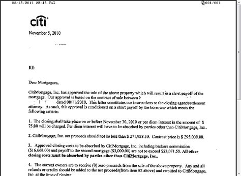 Sample Bank Of America Foreclosure Letter   Cover Letter