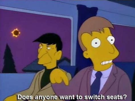 Simpsons Not A Is Creeping Out Mayer by Leonard Nimoy Was The Greatest Quot Simpsons Quot Guest Of