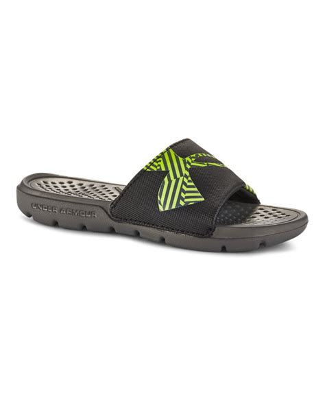 armour boys sandals boys armour strike favella sandals ebay