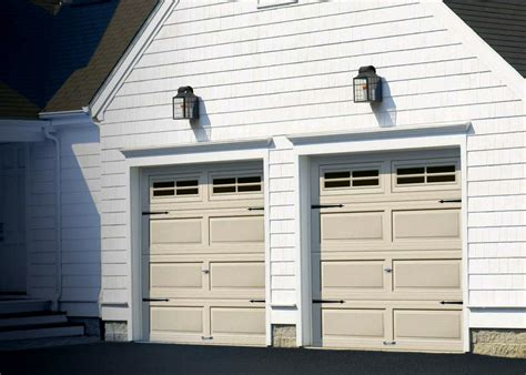 vinyl garage doors mainely vinyl 187 garage doors operators