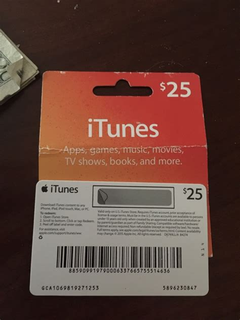 Itunes 20 Dollar Gift Card - itunes 25 dollar gift card in erie letgo