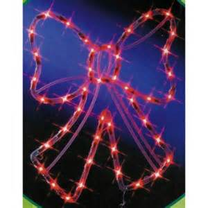 17 quot lighted red bow window or yard christmas decoration