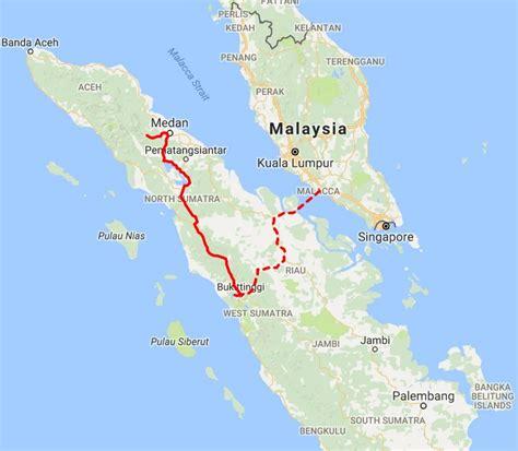 sumatra overland route cornersseas