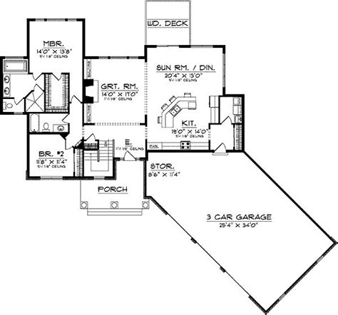 house plans with angled garage unique home plan with lots of style