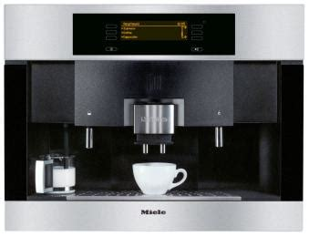 Miele Einbau Kaffeevollautomat Mit Festwasseranschluss by Miele Cva 4085 Bei Kaffeevollautomaten Org