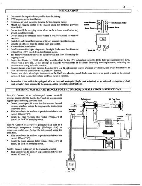 External Wastegate Plumbing by Alltrac Net View Topic Hks Evc Plumbing