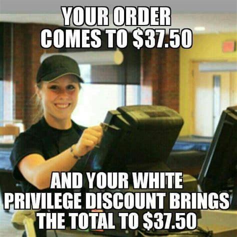 Privilege Meme - white privilege the donald