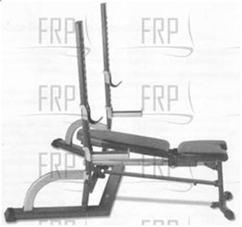 bowflex bench attachments bowflex olympic bench 7004015 fitness and exercise equipment repair parts
