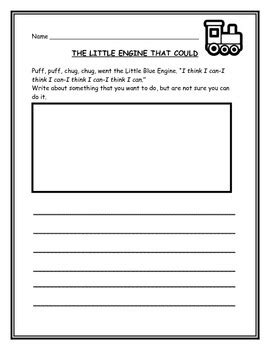 THE LITTLE ENGINE THAT COULD Activities by Write On Teach