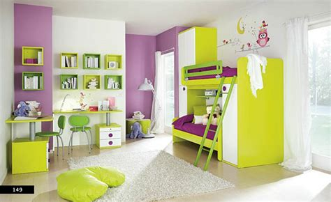 room room painting ideas decoration colorful green purple bedroom design paint