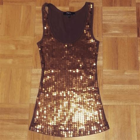express top sequin preloved 89 express tops sale sequin express top from