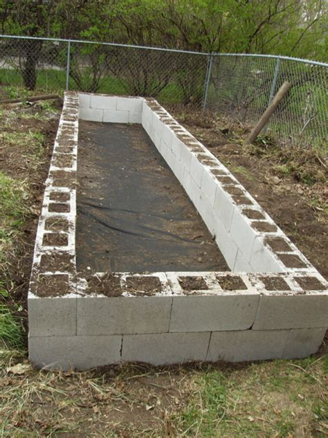 what to use for raised garden beds a raised garden bed with cinder blocks eco snippets