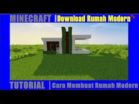 youtube membuat rumah minecraft tutorial cara membuat rumah modern 3 youtube