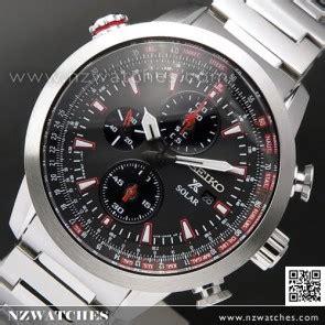 Seiko Prospex Sky Ssc611p1 Solar Chronograph Black Leather buy seiko chronograph watches seiko chronograph