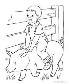 farmer coloring pages free coloring pages of farmer on farm