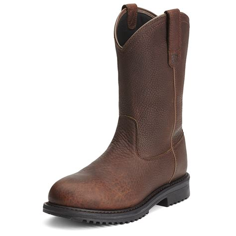 pull on boots ariat waterproof pull on boots rigtek composite toe