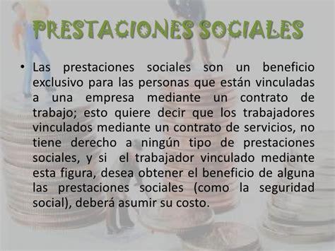 prestaciones sociales para empleadas de servicio en colombia 2015 prestaciones sociales