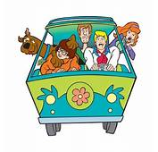 Scooby Doo &amp Mystery Machine Vinyl Die Cut Decal / Sticker