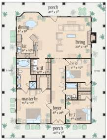 1 story house plans with wrap around porch wrap around porch house plans one story around home plans