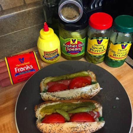 chicago ingredients using only the finest ingredients picture of timmy s chicago style dogs