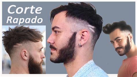 corte de cabello de caballero youtube corte de cabello para hombre rapado fade gus marciano