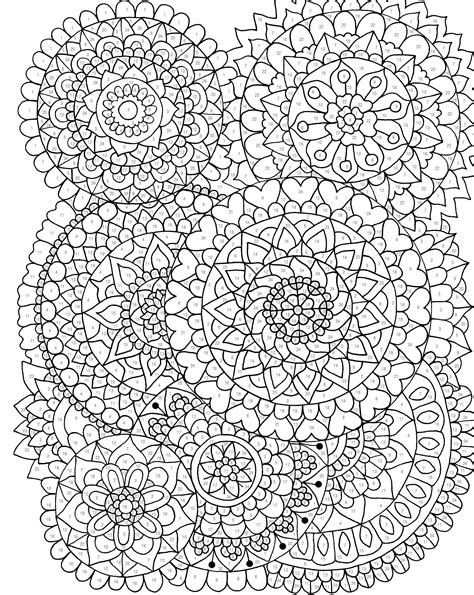 color by numbers coloring book of mandalas a mandalas and designs color by number coloring book for adults for stress relief and relaxation color by number coloring books volume 25 books relax unwind with 3 downloadable color by number