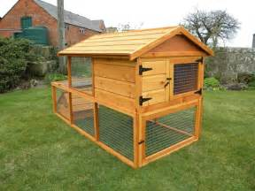 Outdoor Shelter Plans 2 Up 3 Down Wooden Rabbit Hutch