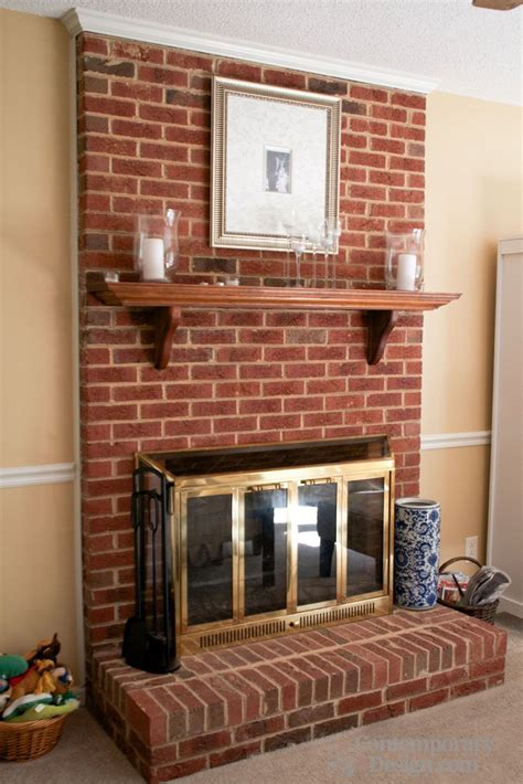what to do with old fireplace red brick fireplace mantels www imgkid com the image