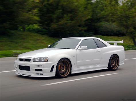 Sports Cars Nissan Skyline Gtr R34 Wallpaper