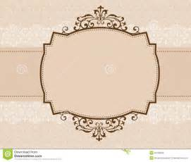ornamental invitation background stock photo image 24165230
