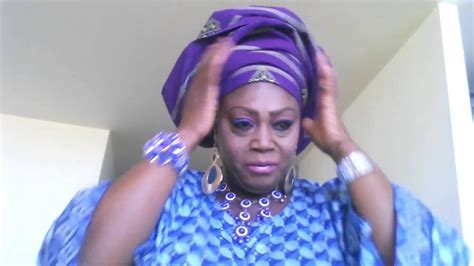 bridal gele on the you tube how to tie nigeria bridal gele aso oke youtube