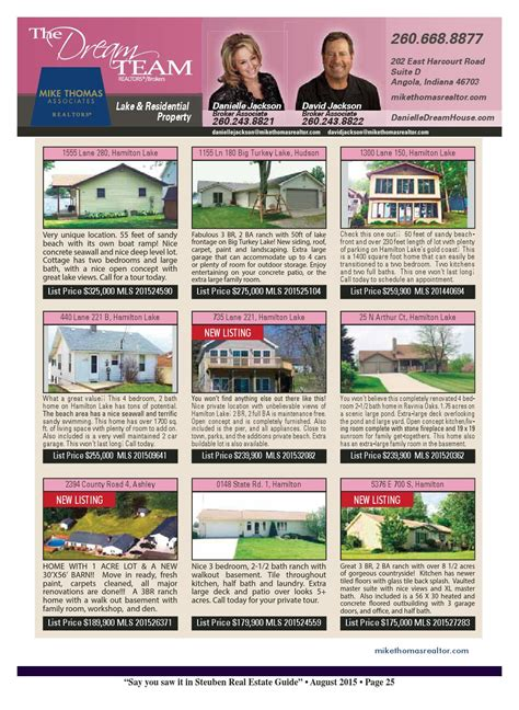boat storage angola indiana steuben county real estate guide july 2015 by kpc media