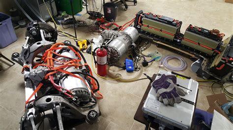 tesla s motor diy tesla model s chevrolet volt mashup results in 1 000