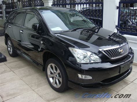 toyota harrier sale toyota harrier 2 4 prime s for sale in klang valley by