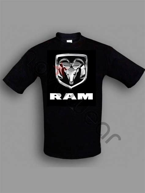 Dodge Black Shirt dodge ram sport t shirt black dodge ram sport accessories