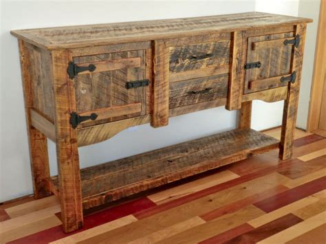 Pine Wood Kitchens Ideas For Painted Buffet Sideboards Rustic Buffet Furniture