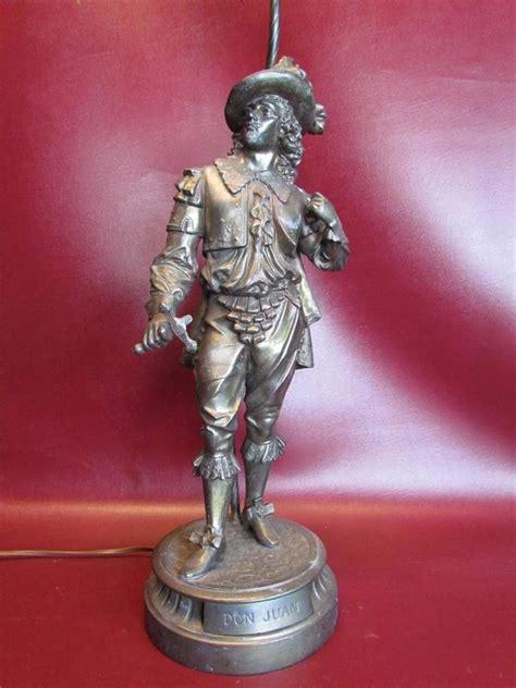 Figural L antique figural don juan spelter statue l ebay