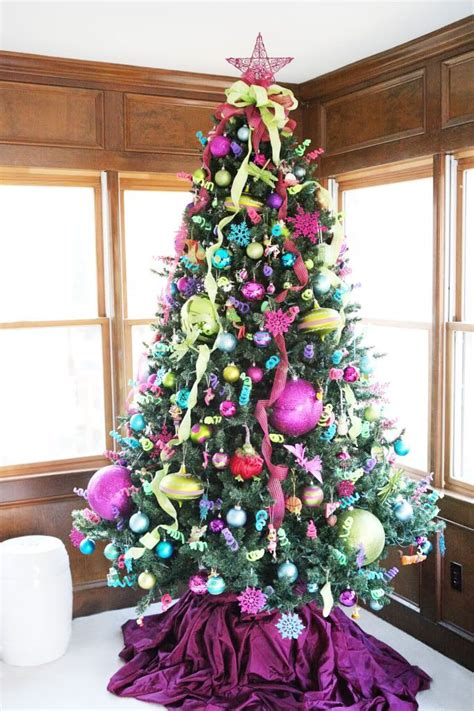 78 ideas about colorful christmas tree on pinterest