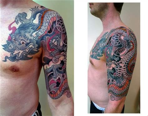 japanese tattoo europe 45 best japanese dragon bicep tattoo images on pinterest