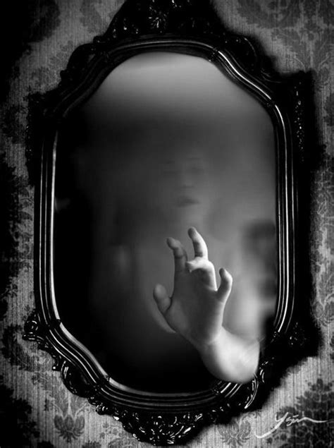 black and white mirror reach move beyond your self imposed reflection
