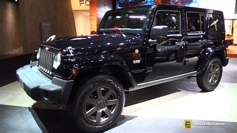 jeep wrangler unlimited interior 2017 2017 jeep wrangler unlimited 75th anniv exterior and