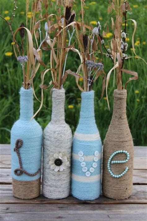 ideas de como decorar botellas de vino ideas para decorar botellas de vino y licor