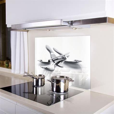 cr馘ence cuisine en verre kozeodeco cr 233 dence de cuisine en verre achat vente