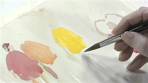 how to paint using watercolors