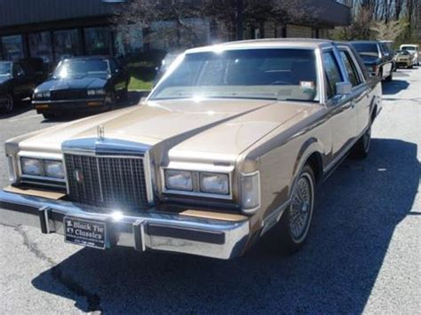 car owners manuals for sale 1986 lincoln continental transmission control 1986 lincoln town car for sale carsforsale com