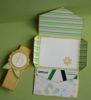 Envelope Punch Board Gift Card Holder - 29 images of easy gift card envelope template infovia net