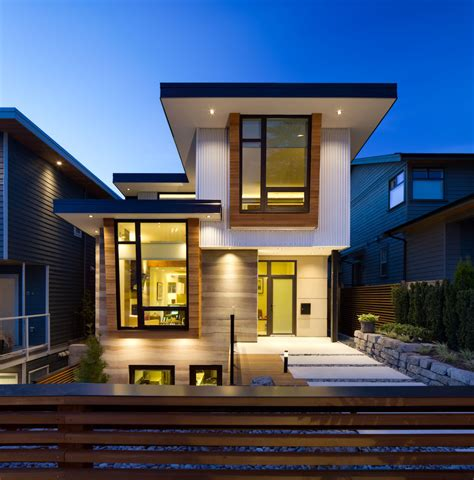 Modern Home Design Awards by Award Winning High Class Ultra Green Home Design In Canada