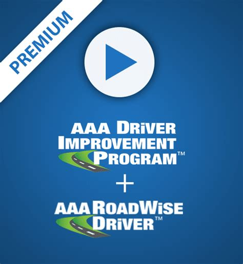 driver improvement program plus roadwise