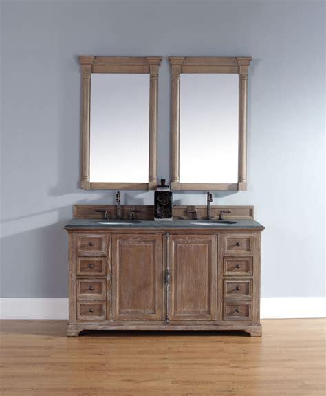 bathroom vanity 60 inch sink 60 inch sink bathroom vanity in driftwood finish