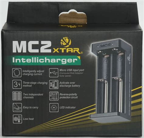 Authentic Xtar Mc2 Charger Battery All In One Vape Senter Led Murah review of charger xtar mc2